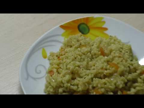 Как вкусно приготовить булгур//БУЛГУР с овощами в мультиварке REDMOND