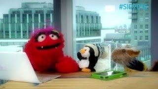 Red and Murphy talk to Smartie the Penguin about Helping Your Friends Online