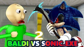 SONIC.EXE vs BALDI'S BASICS CHALLENGE 2! Ft. Cybertruck! (official) Minecraft Horror Animation Movie