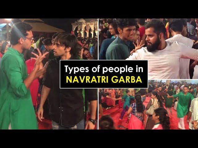 Types of people in NAVRATRI GARBA  Funcho Entertainment  Dhruv Shah  Shyam Sharma  FC