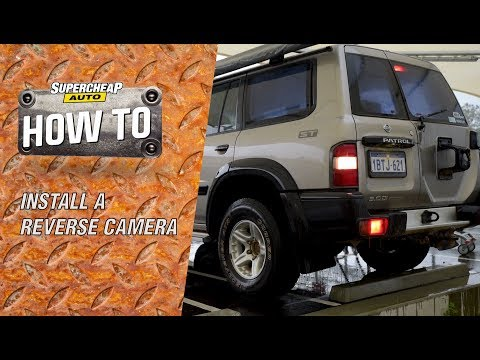 How to install a Reverse Camera