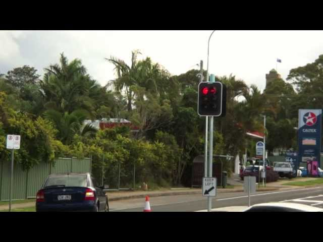 New Traffic Lights at Bli Bli