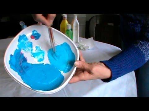 C mo hacer azul cer leo celeste turquesa prusia youtube - Como hacer color turquesa ...