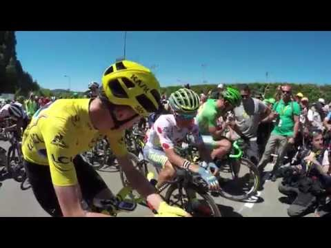 Tour de France 2016: Stage 16 on-board highlights
