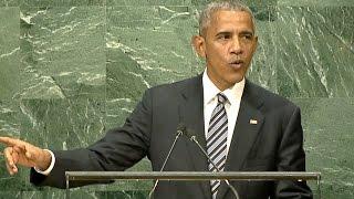 President Obama: Democracy vs. Authoritarianism