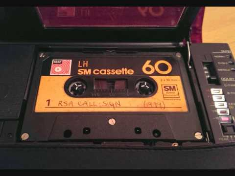 RSA Radio South Africa ident / call sign (from master tape) with voice and fanfare