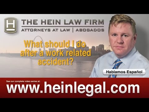 Work Comp Lawyer St. Louis | What To Do in Case of a Work Injury