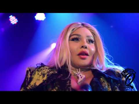 LIL KIM LIVE @ TOADS PLACE NEW HAVEN CT. 5/12/2016