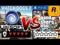 UBISOFT WATCHDOGS 2 WANTED LEVEL VS ROCKSTAR GRAND THEFT AUTO 5 WANTED LEVEL mp3