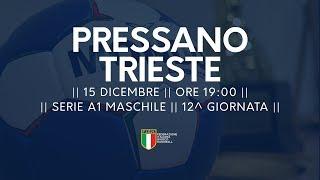 Serie A1M [12^]: Pressano - Trieste 28-20