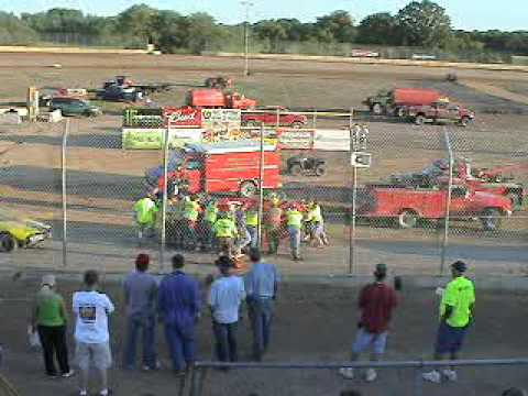 Races at Ogilvie MN 7 11 09 Video 2