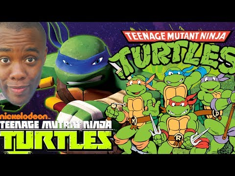 NINJA TURTLES Meet 80s TMNT