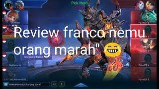 Franco 100% masuk meta?? ( franco gameplay)