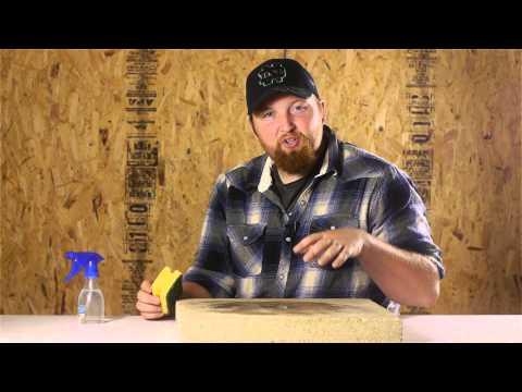 How to prepare a concrete floor to lay peel stick vinyl for Preparing floor for vinyl