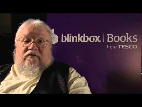 George R. R. Martin - EXCLUSIVE blinkbox Books interview!