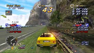 OUTRUN ONLINE ARCADE PS3 HD RPSC3 5.0 2018  TIME ATTACK MODE