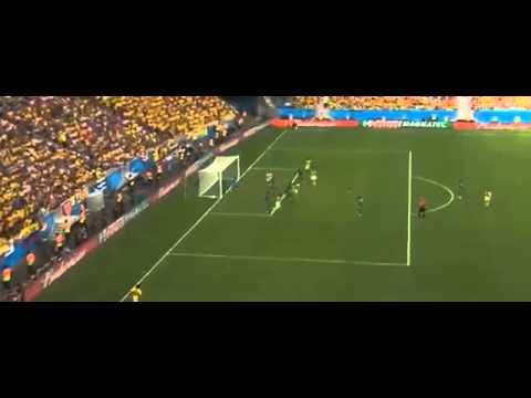 Gol de James Rodriguez  Colombia vs Ivory Coast 1 0 Mundial Brasil 2014