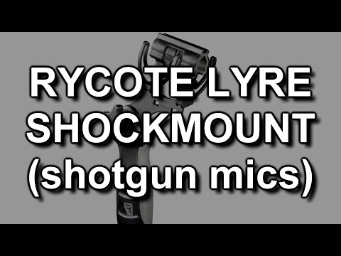 Test: Rycote InVision Softie Lyre Mount for handheld shotgun mics