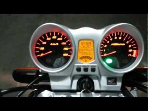 Twister CBX 250 - Segunda puesta en marcha!