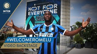#WELCOMEROMELU | VIDEO BACKSTAGE | Romelu Lukaku 📹⚫🔵🇧🇪