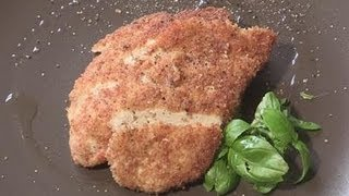 How to make homemade breaded chicken breast
