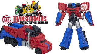 Juguete Optimus Prime Transformers Robots in Disguise y Juego Digital Gratis