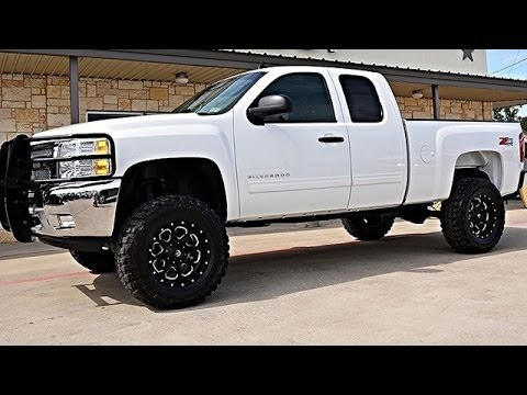 Ext Cab 4wd Lifted Truck