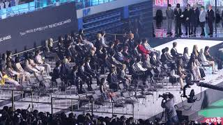 190424 All Artis Reaction To BTS Speech DAESANG @ TMA 2019