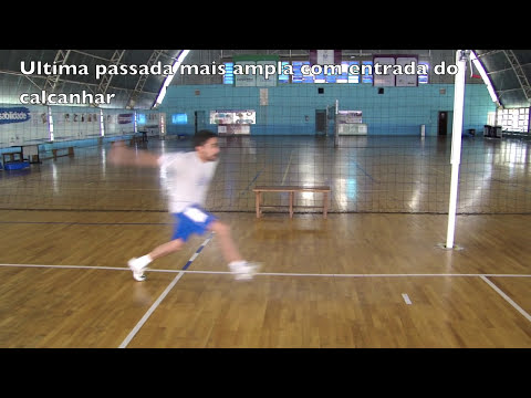 Ensinando cortada/ataque no voleibol