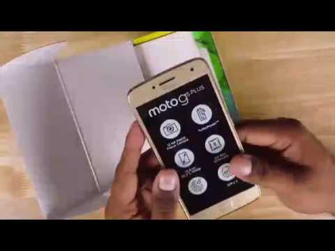 Moto G5 Plus:Unboxing And In Hands