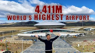 Fly to the World's HIGHEST Airport - Daocheng Yading