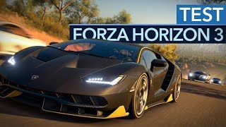 Forza Horizon 3 Test: BMW M4 Coupe vs Tesla Model S vs Lamborghini Urus