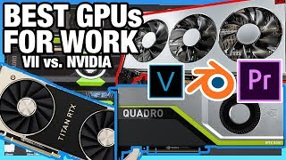 Best Workstation GPUs 2019: Premiere, Blender, & More | RTX 5000 Review