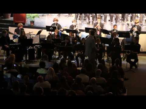 Thurgood Marshall Fundamental Middle School Jazz Band 2014