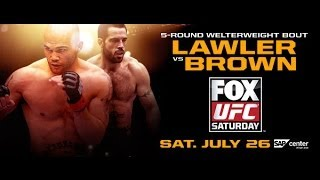 UFC on Fox 12: Brown vs. Lawler preview