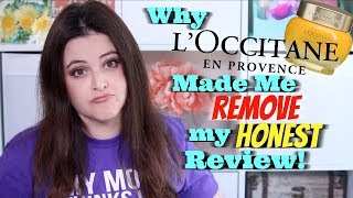 Sponsored Video Gone Wrong: Why L'Occitane Made Me Take Down My Video
