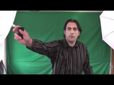 How to chroma key Green screen