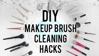 DIY Makeup Brush Cleaning Hacks | ANN LE