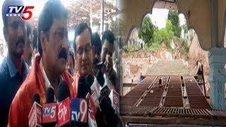 Minister Ganta Srinivasa rao Inspects Giri Pradakshina Arrangements | Simhachalam