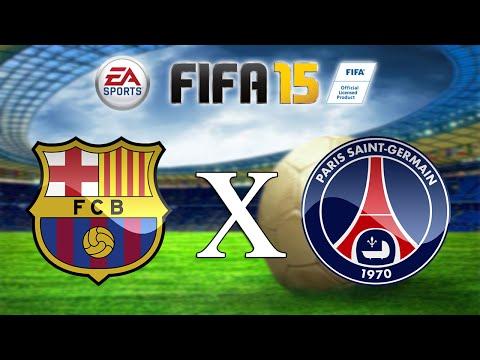FIFA 15 - Barcelona vs PSG