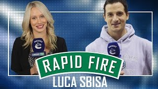 Video Canucks Rapid Fire with Luca