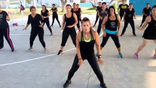 Zumba give it up