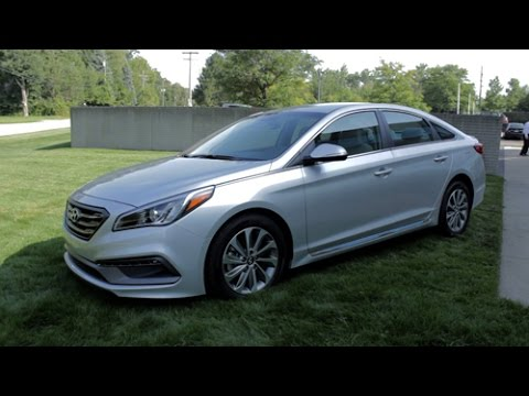 2015 Hyundai Sonata Sport Review Lotpro Youtube