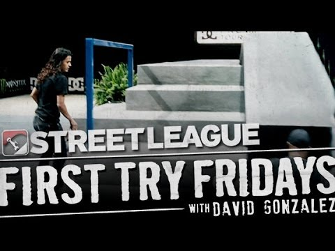 David Gonzalez - First Try Friday