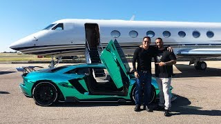 RELOAD: Flying Private Jet to Buy New Lamborghini