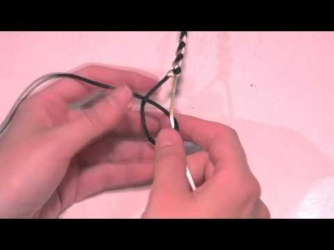 Abalorios Manualidades - Pulsera macrame sencilla