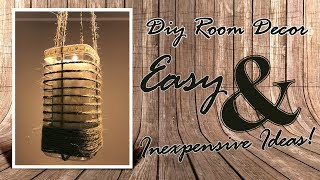 Diy Room Decor - Most Amazing Diy Room Decor & Organization For 2018 - Easy & Inexpensive Ideas!
