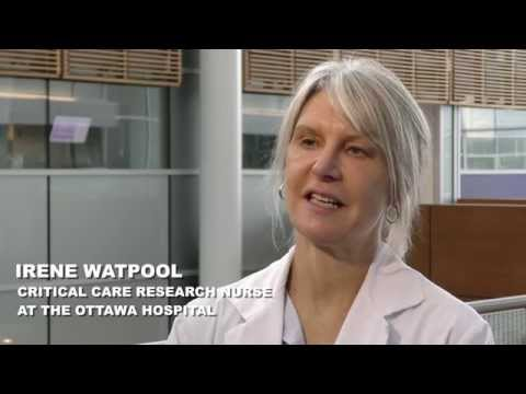 Irene Watpool, Critical Care Research Nurse at The Ottawa Hospital