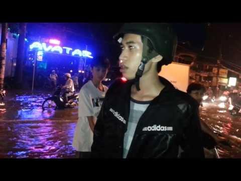 Lụt...Gò Vấp - Tân Bình