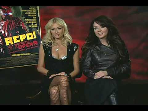 Sarah Brightman and Paris Hilton, Repo Interview